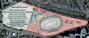 As well as losing almost half of the site, the £25 million proposed centre is to be very basic.
